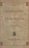 Raymond Hovasse - Adaptation et évolution.