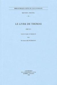 Raymond Kuntzmann - Le livre de Thomas - (NH II, 7).