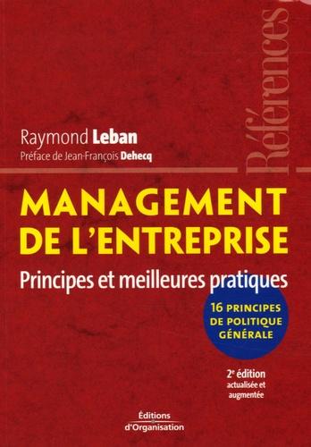 Raymond Leban - Management de l'entreprise - Principes et meilleures pratiques.