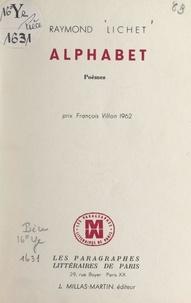 Raymond Lichet - Alphabet.