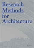 Raymond Lucas - Research Methods for Architecture.