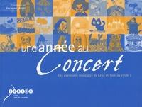 Raymond Mesplé - Une année au concert - Les aventures musicales de Léna et Tom au cycle 1. 1 CD audio
