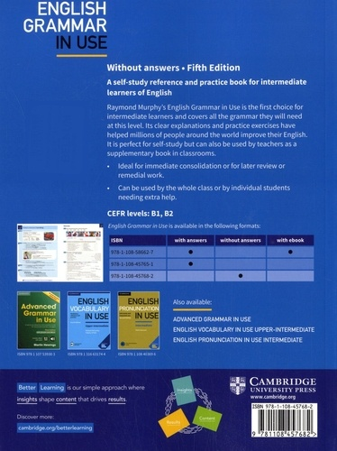 English Grammar in Use. Without Answers 5th edition