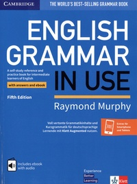 Raymond Murphy - English grammar in use - A self-study reference and practice book for intermediate learners of English with anwers and ebook.