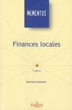 Raymond Muzellec - Finances locales.
