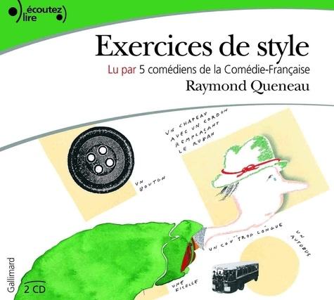 Raymond Queneau et Clothilde de Bayser - Exercices de style.
