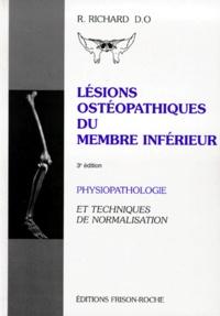 Openwetlab.it LESIONS OSTEOPATHIQUES DU MEMBRE INFERIEUR. - Physiopathologie et techniques de normalisation, 3ème édition Image