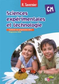 Raymond Tavernier - Sciences expérimentales et technologie CM - Programme 2008.