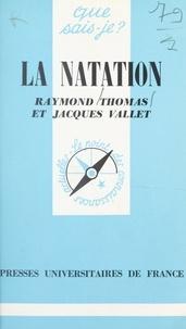 Raymond Thomas et Jacques Vallet - La natation.