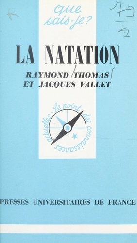 Raymond Thomas et Jacques Vallet - La natation.