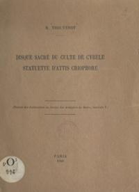 Raymond Thouvenot - Disque sacré du culte de Cybèle - Statuette d'Attis Criophore.