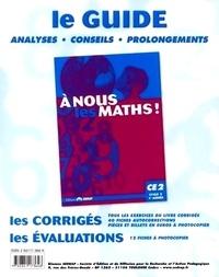 Raymonde Rouch et Isabelle Tauzin - A nous les maths ! CE2 Classeur-guide - Livre du maître.