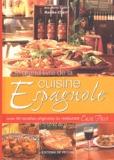"""Razika Chérif - Le grand livre de la cuisine espagnole - Avec 60 recettes originales du restaurant """"Casa Paco""""."""