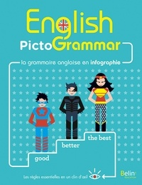 Télécharger Google ebooks pdf English PictoGrammar  - La grammaire anglaise en infographie 9791035800147 (Litterature Francaise) par Rebecca Dahm