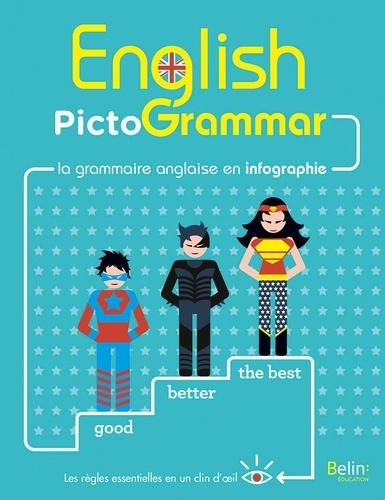 Rebecca Dahm - English PictoGrammar - La grammaire anglaise en infographie.