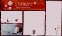 Rébecca Dautremer - L'écritoire.