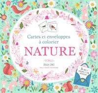 Rebecca Jones - Nature - Cartes et enveloppes à colorier.