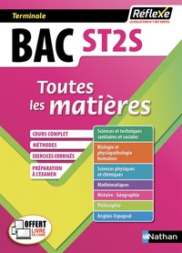 Rébecca Lioubchansky et Frédérique Pitrou-Ponchaux - Sciences et technologies de la santé et du social Tle ST2S - Toutes les matières en fiches.