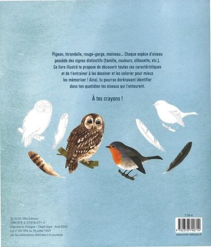 Je découvre les oiseaux de France en dessinant et en coloriant
