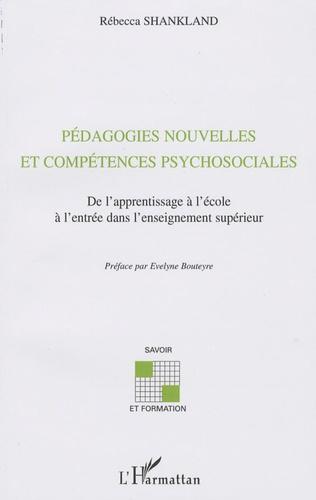 Rébecca Shankland - Pédagogies nouvelles et compétences psychosociales.
