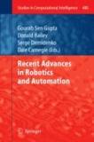 Recent Advances in Robotics and Automation.