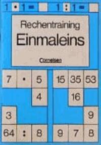 Rechentraining. Einmaleins - Mit 2 Schablonen.
