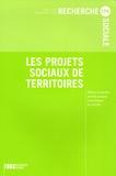 Anne Sauvayre et Didier Vanoni - Recherche sociale N° 174, Avril-Juin 2 : Les projets sociaux de territoires.