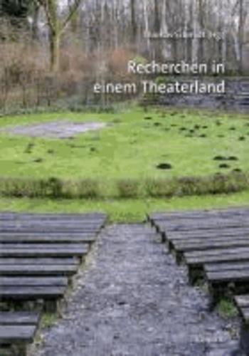 Recherchen in einem Theaterland - Die sechzehn Theater- und Orchestersysteme der Bundesrepublik Deutschland im Vergleich.