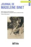 Bernard Andrieu - Recherches et Educations Hors-série 2011 : Journal de Madeleine Binet.