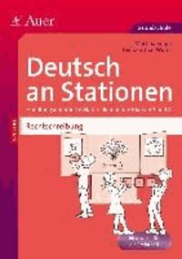 Rechtschreibung an Stationen 3-4 - Handlungsorientiere Materialien für die Klassen 3 und 4.
