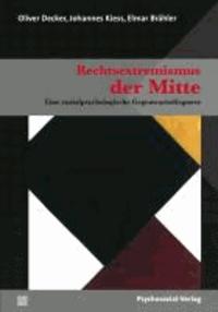 Rechtsextremismus der Mitte - Eine sozialpsychologische Gegenwartsdiagnose.