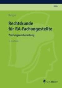 Rechtskunde für RA-Fachangestellte - Prüfungsvorbereitung.