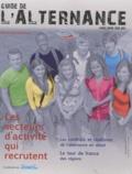 Recrut.com - Guide de l'alternance - Les secteurs d'activité qui recrutent, Les contrats et les diplômes de l'alternance en détail, Le tour de France des régions.