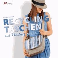 Recycling-Taschen - aus Kleidung genäht.
