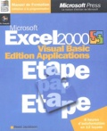 Reed Jacobson - Excel 2000 - Visual Basic Edition Applications. 1 Cédérom