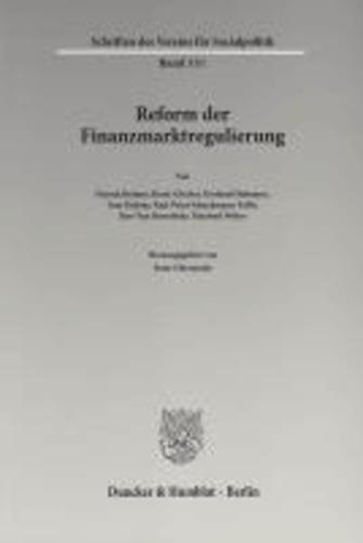 Reform der Finanzmarktregulierung.