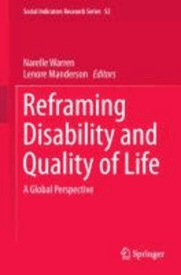 Narelle Warren - Reframing Disability and Quality of Life - A Global Perspective.