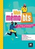 Régine Aidemoy et Aline Chudy - Mon mémo BTS - 40 fiches indispensables pour réussir en BTS.