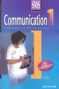 Régine Barrès et Gervaise Audous - Communication 2e et 1e SMS - Tome 1.