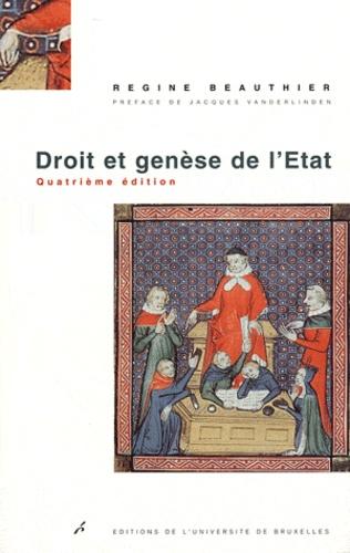 Régine Beauthier - Droit et genèse de l'Etat.