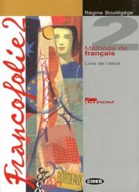 Galabria.be Francofolie 2 Méthode de français - Pack 2 Volumes, Livre de l'élève ; Cahier d'exercices Image