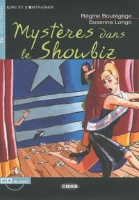Régine Boutégège et Susanna Longo - Mystères dans le showbiz. 1 CD audio