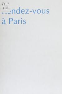Régine Deforges et  Romain - Rendez-vous à Paris.