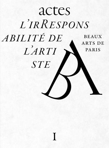 Régine Hatchondo et Jean-Marc Bustamante - L'irresponsabilité de l'artiste.