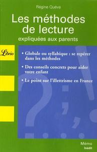 Régine Quéva - Les méthodes de lecture expliquées aux parents.