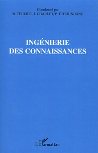 Régine Teulier et Jean Charlet - Ingénierie des connaissances. 1 Cédérom