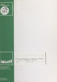 Région Île-de-France et Joseph Berthet - Note sur les problèmes de logement des immigrés et l'immigration familiale - Février 1981.