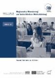 Regionales Monitoring zur betrieblichen Weiterbildung - Konzepte, Instrumente, Verfahren.