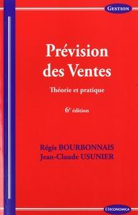 Régis Bourbonnais et Laurence Usunier - Prevision des ventes - Théorie et pratique.