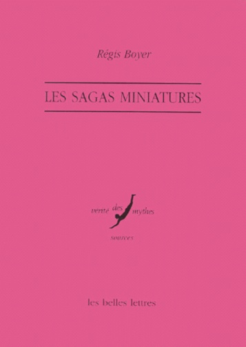 Régis Boyer - Les sagas miniatures - Üñttir.